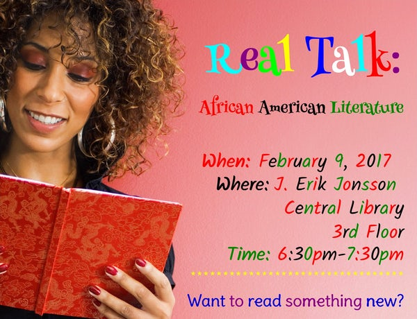 Real Talk: African American Literature