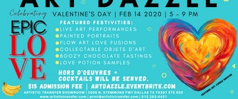 Art Dazzle Show - The Most Epic Valentines Day