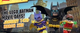 Meet the Caped Crusader at The LEGO Batman Movie Days