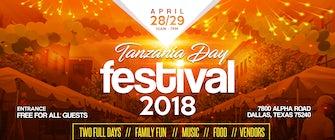 2018 Tanzania Festival in Dallas