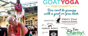 Happy Goat Yoga: Dallas Farmer's Market
