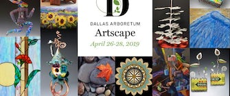 Dallas Arboretum Hosts Artscape Fine Art and Craft Show