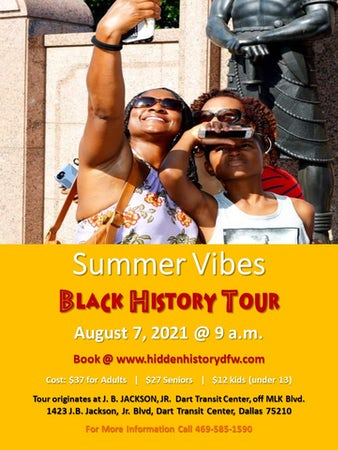 SUMMER VIBES: Black History Tour