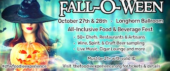 The Foodie Experience Fall-O-Ween