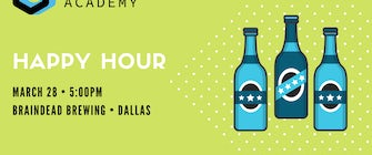 Circle Coding Academy's March Happy Hour Event