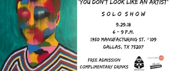 """Eric Mancini Solo Show: """"You Don't Look Like An Artist"""""""