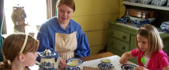 Girl Scouts Manners and Etiquette Badge Workshop at Dallas Heritage Village