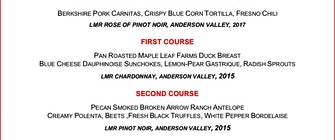 Abacus Hosts Long Meadow Ranch Wine Dinner