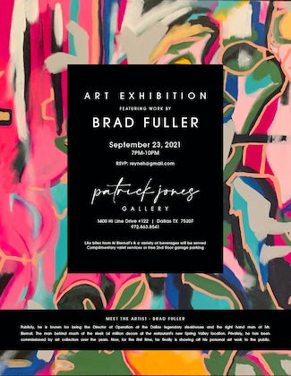 Art Exhibition: An Evening with Brad Fuller