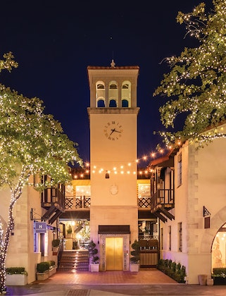 Highland Park Village's Christmas Lights Celebration and Shopping Stroll